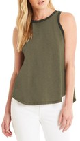 Michael Stars Women's Contrast Trim Swing Tank