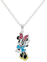 "Disney Enamel Mickey Pendant with 18"" Chain & Musical Box"