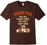 Men's Farm n' Fancy: Guinea Pigs Are Like Potato Chips T Shirt Large