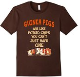 Women's Farm n' Fancy: Guinea Pigs Are Like Potato Chips T Shirt Large