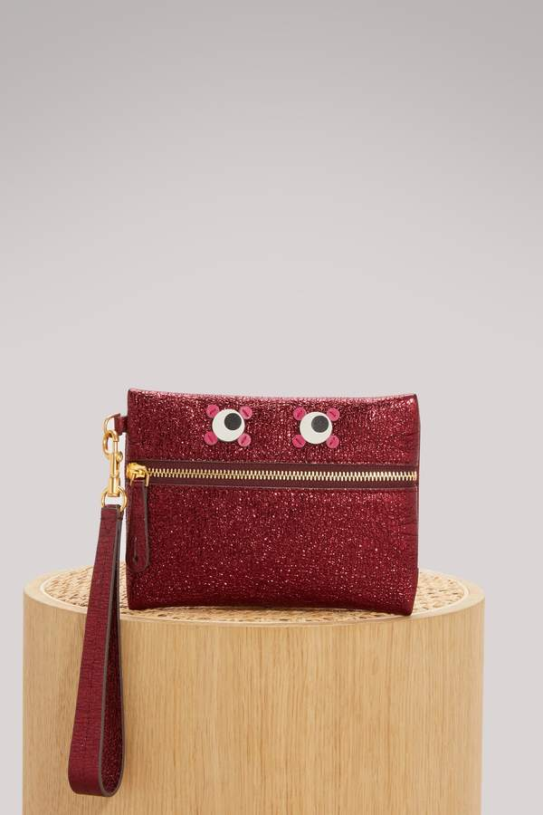 Anya Hindmarch Eyes Circulus small pouch