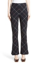 Awake Women's Fitted Crop Flare Pants