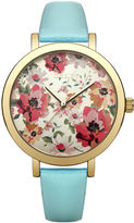 """Oasis Floral Dial Watch [span class=""""variation_color_heading""""]- Green[/span]"""