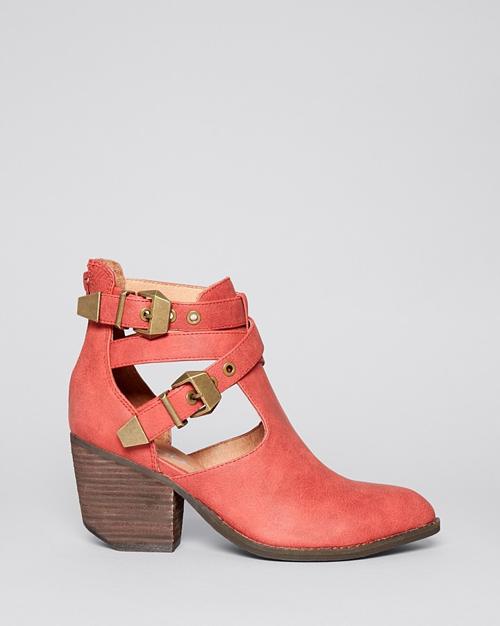Jeffrey Campbell Ankle Booties - Everwell Mid Heel