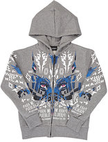 Marcelo Burlon County of Milan PATAGONIA FLEECE ZIP-FRONT HOODIE