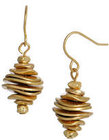 Kenneth Cole New York Stacked Disc Drop Earring