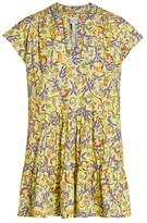 Saloni Ashley Monkey Poplin Mini Dress