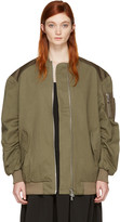Won Hundred Green Dolly 2 Bomber Jacket