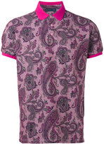 Etro paisley print polo shirt - men - Cotton - S