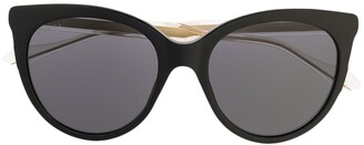 Gucci Clear Arm Sunglasses