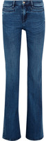 MiH Jeans Marrakesh High-rise Flared Jeans - Dark denim