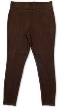 Style&Co. Style & Co Plus Size Seamed Ponte-Knit Leggings, Created for Macy's