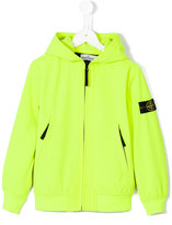 Stone Island Junior - zipped bomber jacket - kids - Polyester/Spandex/Elastane - 2 yrs