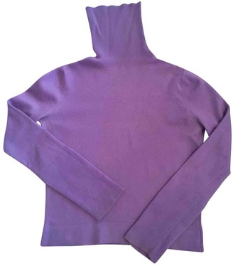 Balenciaga Purple Cashmere Knitwear for Women
