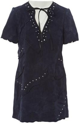 Coach Blue Suede Dresses