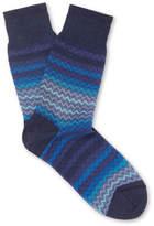 Missoni - Crochet-knit Cotton Socks