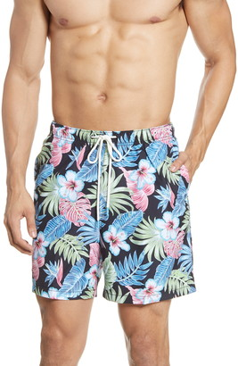 Tommy Bahama Naples Konkan Jungle Classic Fit Swim Trunks