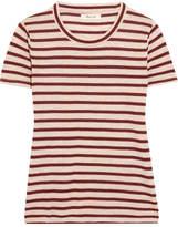 Madewell Garrett Metallic Striped Jersey T-shirt