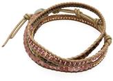 Chan Luu Nugget & Leather Wrap Bracelet