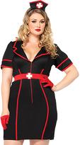 Leg Avenue Black & Red Naughty Night Nurse 3-Piece Costume Set