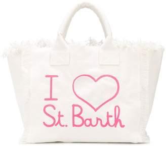 MC2 Saint Barth Vanity fringed tote