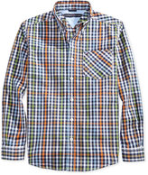 Tommy Hilfiger Little Boys' Plaid Shirt