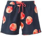 Paul Smith apricot print swim shorts