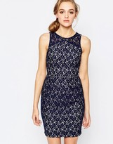 Sugarhill Boutique Lace Shift Dress