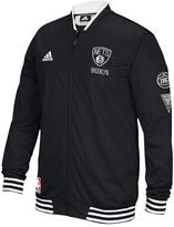 adidas Men's Brooklyn Nets On-Court Warm Up Jacket