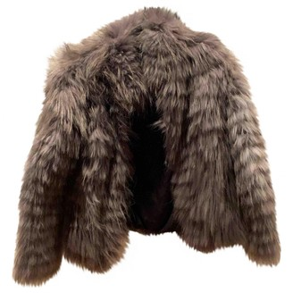 Dna Grey Fur Coat for Women