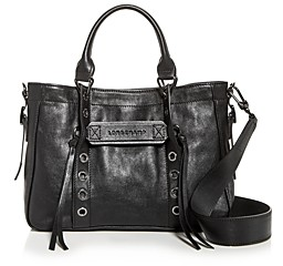 Longchamp Small 3D Rock Leather Tote
