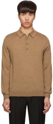 Paul Smith Tan Knit Polo