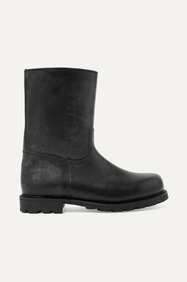 Ludwig Reiter Arlbergerin Shearling-lined Leather Boots - Black