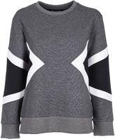 Neil Barrett Geometric Insert Sweatshirt