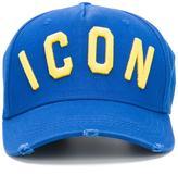 DSQUARED2 Icon baseball cap - men - Cotton - One Size