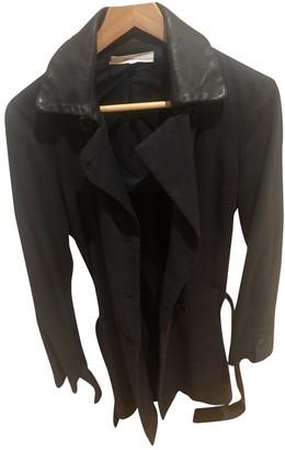 Vanessa Bruno Black Cotton Trench Coat for Women