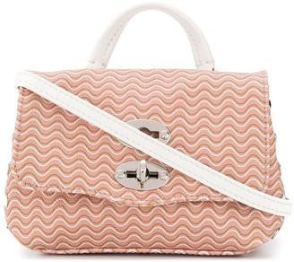 Zanellato Superbaby squiggle print mini bag