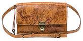 Patricia Nash Signature Map Collection Lanza Organizer Convertible Cross-Body Bag