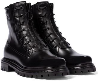 Aquazzura Kicks leather ankle boots