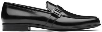 Prada Logo Loafers