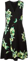 Proenza Schouler sleeveless floral print dress