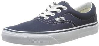 Vans Unisex Adults Era Classic Canvas Low-Top Trainers, Blue (Navy), (36.5 EU)