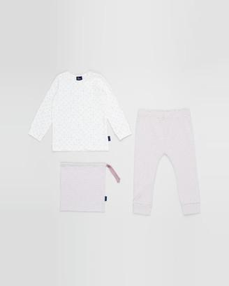 Pappe - Pink Pyjamas - Skye Pyjama Set - Babies-Kids - Size One Size, 00 at The Iconic