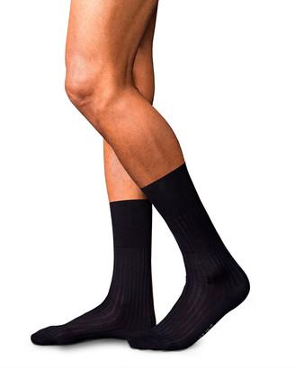 Falke Men's Solid Stripe Socks