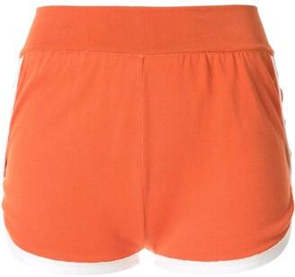 Contrast Trim Short Shorts