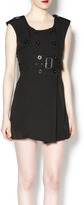 Freeway black mini dress