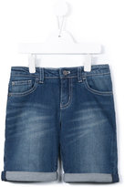 Armani Junior medium washed denim shorts - kids - Cotton/Spandex/Elastane - 11 yrs