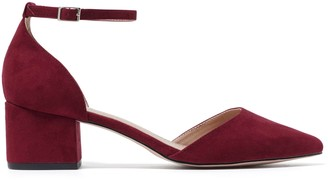 Forever New Penelope Two-Part Court Heels - Berry - 42