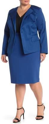Lafayette 148 New York Pencil Skirt (Plus Size)