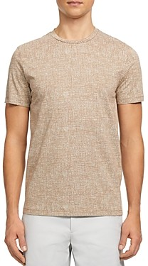 Theory Printed Jersey Basic Tee